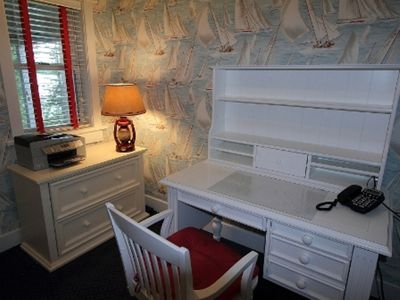 Swan Lake house rental - Private Office with speaker phone, printer and wireless internet