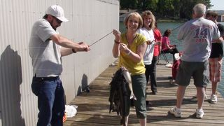 Guntersville Lake house photo - Happy guests with their fish!