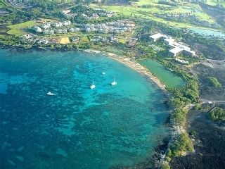 White, sandy beaches at 'A Bay' - 5 Minutes Away - Waikoloa Beach Resort villa vacation rental photo