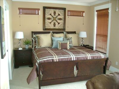 2nd Floor Master's Suite - King Size Comfort