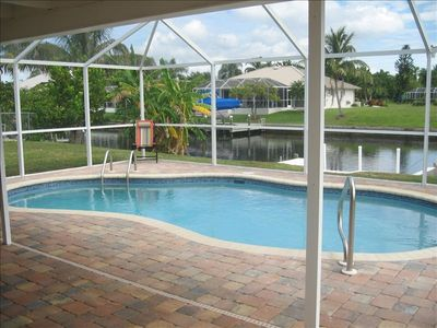 Cape Coral house rental - Heated pool