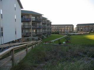 Surf City condo photo - Walk right down the sidewalk to the beach walk and ocean