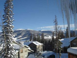 Silverthorne townhome photo - View From Living Room on a Clear Winter Day