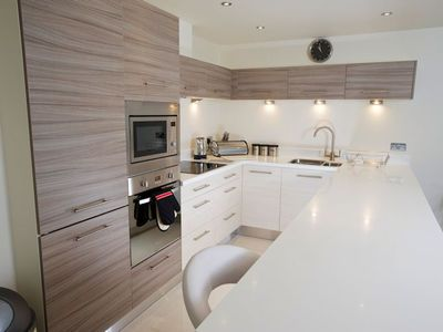 Kitchen with high spec finish