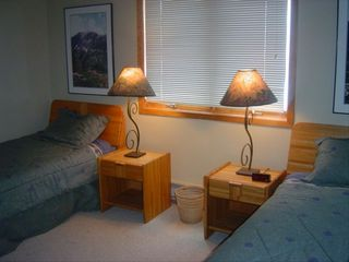 Crested Butte townhome photo - Second Bedroom