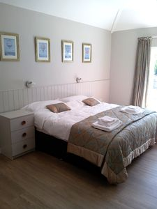 Bedroom 1 - set up as Superkingsize or can also be used as two single beds