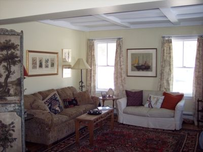 Rockport house rental - Living Room