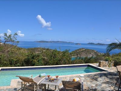 LOOKING EAST TOWARDS THE BVI
