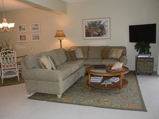 Grand Cayman condo photo - Living Room overlooking the Beach