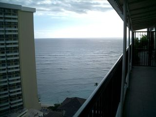 Waikiki condo photo - Great view from lanai