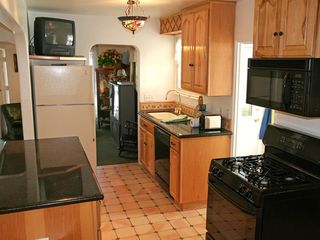 Catalina Island house photo - Updated and fully equipped kitchen with washer/dryer laundry room attached.