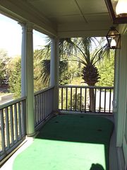 Kiawah Island house photo - Screened in porch has a putting green!