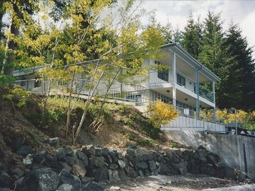 Shelton house rental - view from the beach