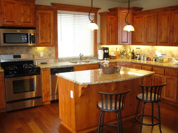 Lincoln City house rental - Gourmet Kitchen with Plenty of Space