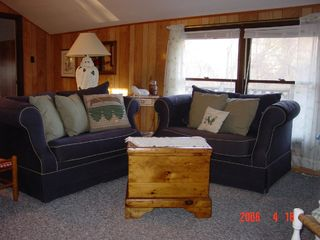 Great Barrington cottage photo - Each Sofa Pulls Out To A Twin Bed.