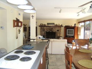Lower Level Living/Kitchen area - Gravois Mills house vacation rental photo