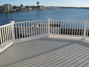 2nd floor Deck from one of the 6 bedrooms.