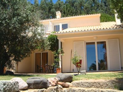 Holiday apartment in ideal surroundings, pool, roof terrace with panoramic view