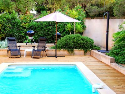 House w/pool in wine-growers village, wifi, child friendly, 10 km Pezenas