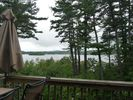 Deck view. - Laconia condo vacation rental photo