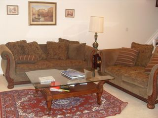 Brigantine villa photo - Living Room