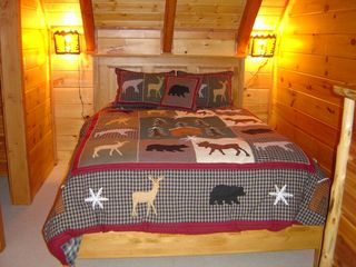 Blowing Rock cabin photo - Third Bedroom - Queen 2