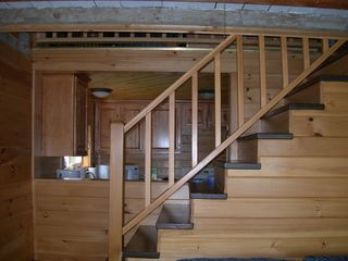 Harpswell cottage photo - Stairs to the loft