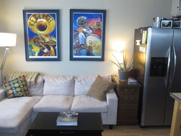 Garden District condo rental - .Family Room
