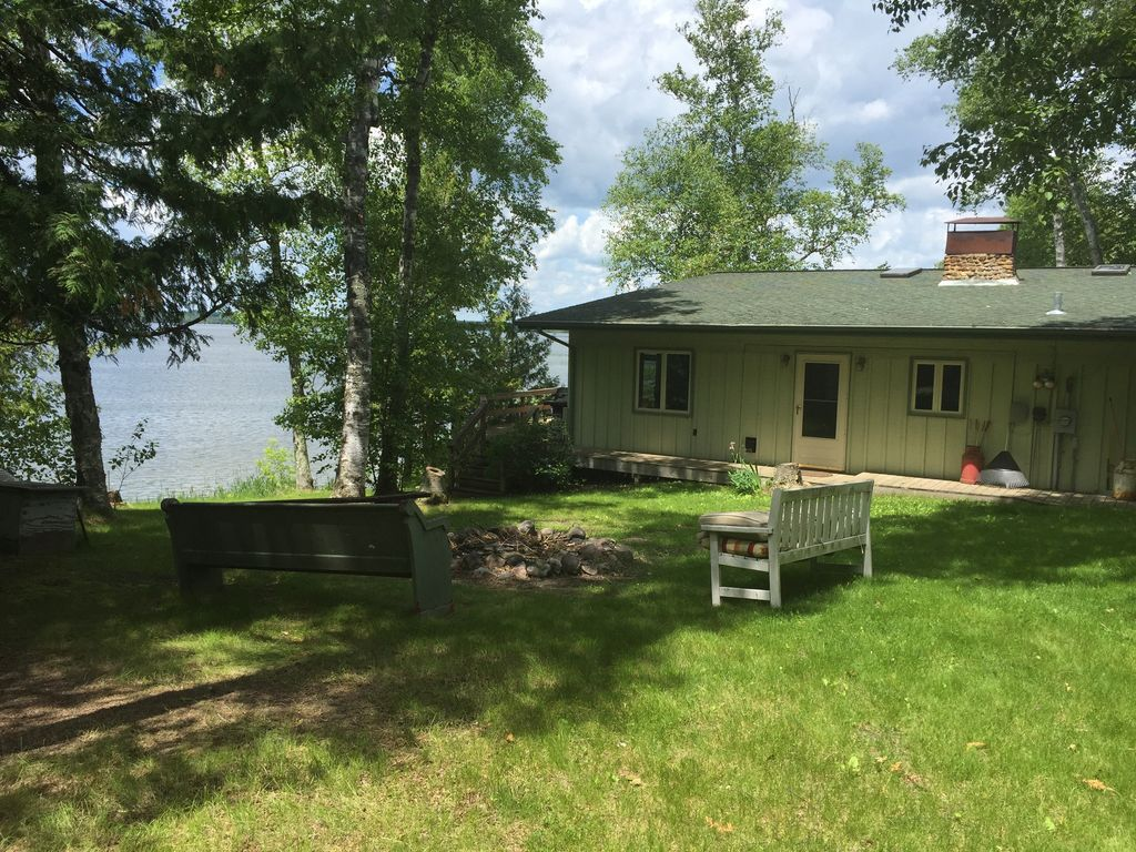 Spacious up north minnesota cabin homeaway bemidji for Up north cottages
