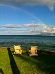 Kaanapali condo photo - The only thing missing on this beautiful day is you!