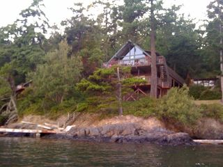 Lopez Island cabin photo - Water view