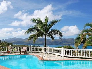 Samana villa photo - Swimming pool view
