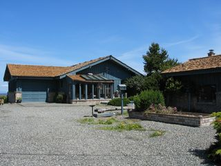 Sequim house photo - Diamond Shore Lane Approach