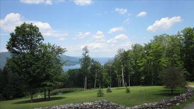 Newer Lake George Guest Cabin- 'The Haven at Huletts Landing'