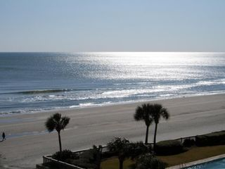 The Dunes condo rental - Actual View from Balcony