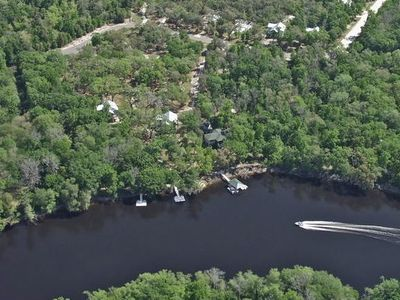 The Cottages of Suwannee Preserve Arial View