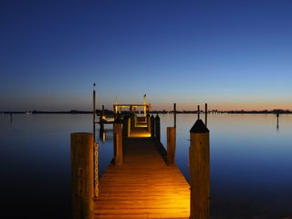 Englewood house photo - Sunset on The Dock of the Bay. Actual photo from guest.