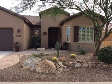 Oracle house rental - Front of 60501 East Arroyo Vista Drive
