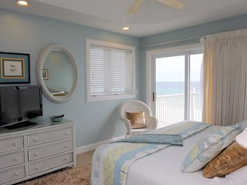 Bedroom #5 with ocean views.