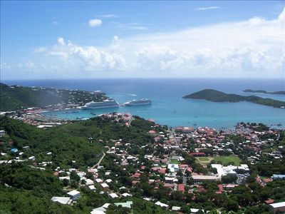 Southside condo rental - St. Thomas harbor