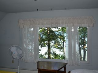 Cheboygan house photo - View of Mullet Lake from front bedroom of house.