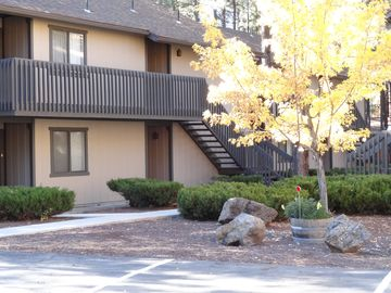 Pinetop condo rental - Front View - Ground Level Unit