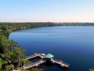 Lake Buena Vista condo photo - Private resort dock and gazebo!