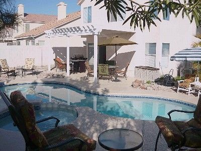 Private oasis yard, covered patio, hot tub and pool