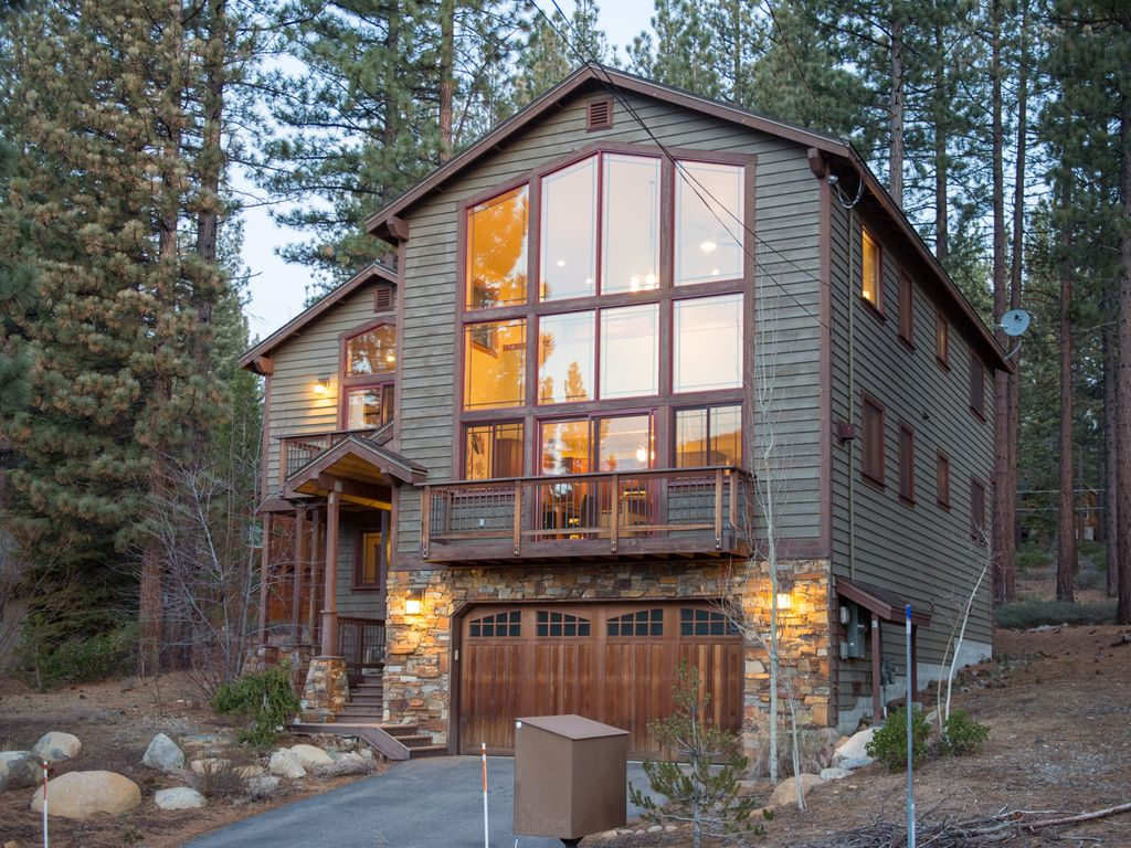 4BR3BA Tranquil Luxury Lake Tahoe House  VRBO