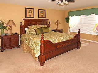 Master bedroom 1 - Windsor Hills villa vacation rental photo