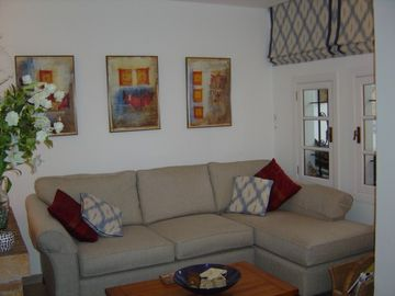 Sittingroom of villa 'F'