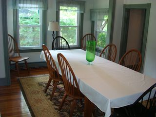 Narragansett Pier house photo - Dining room - seating for 8-10 with additional seating in the adjacent game room
