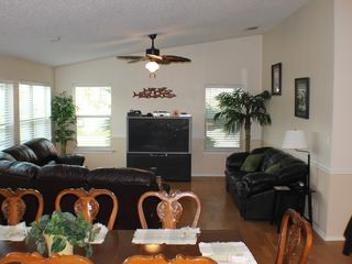 South Padre Island house photo - Family Room-Plenty of seating for everyone!