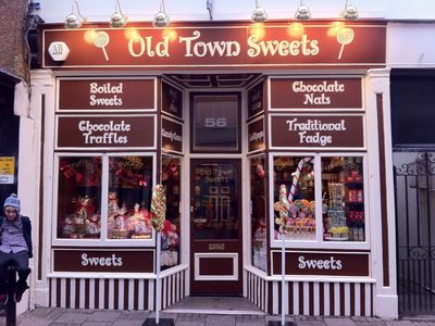 QUAINT LITTLE SWEET SHOP IN OLD TOWN